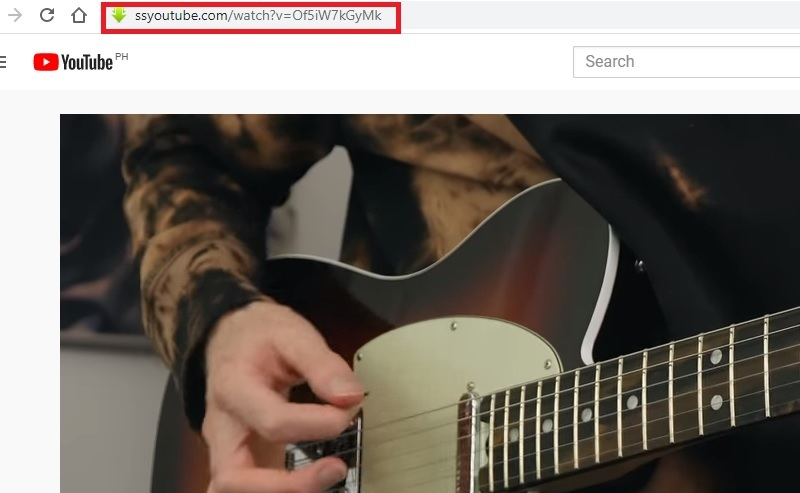 download youtube savefrom step1