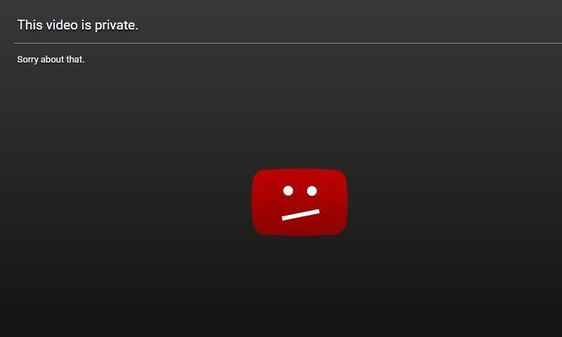 youtube private videos