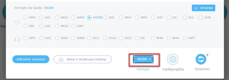 fvco br choose format