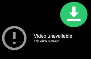 baixar vídeo privado do youtube