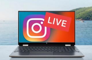 Gravar Live no Instagram