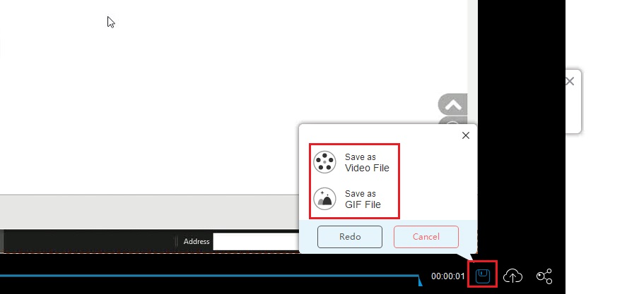 free online screen recorder step 4