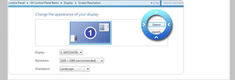 windows7 screen resolution