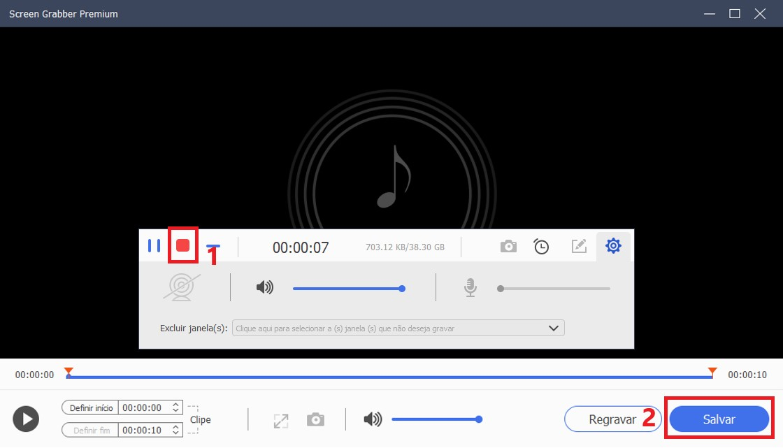 sgp save the recorded audio step4