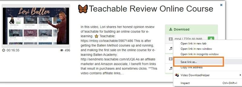 tubeninja download teachable video