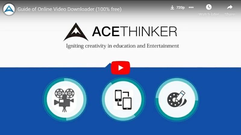 online video downloader user guide