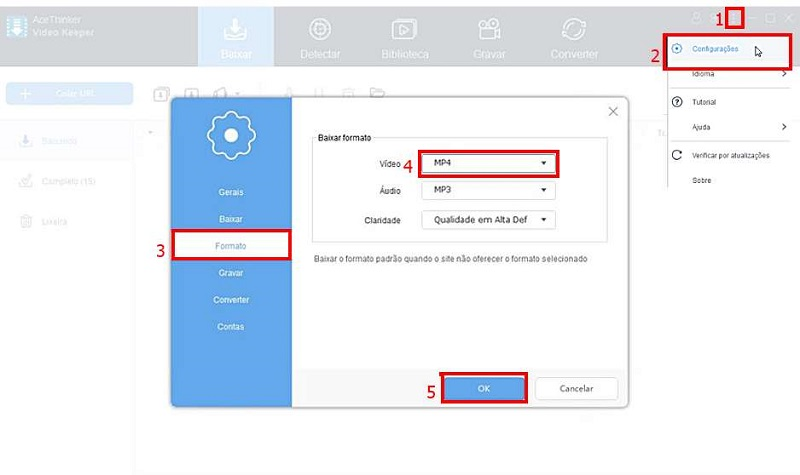 best youtube to mp4 converter step 2