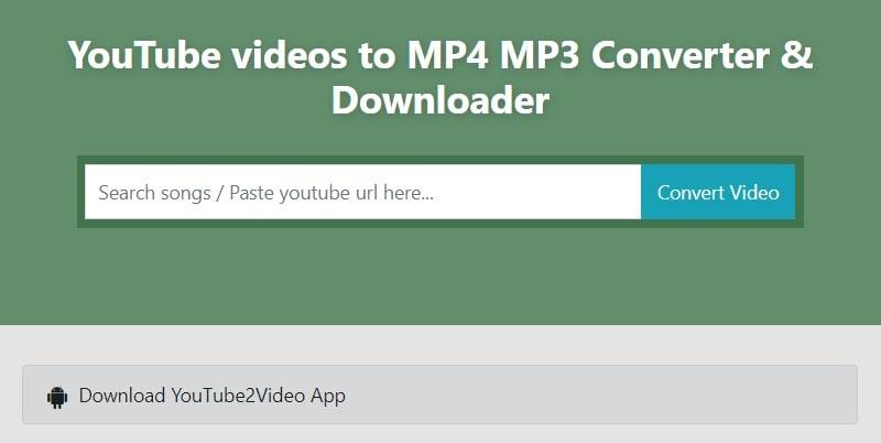 youtube2video downloader min