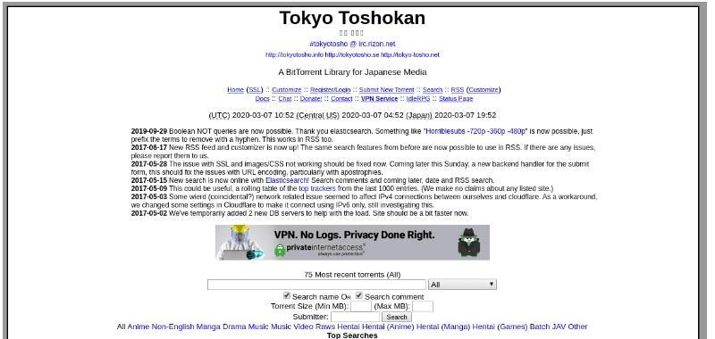 download raw anime toshokan