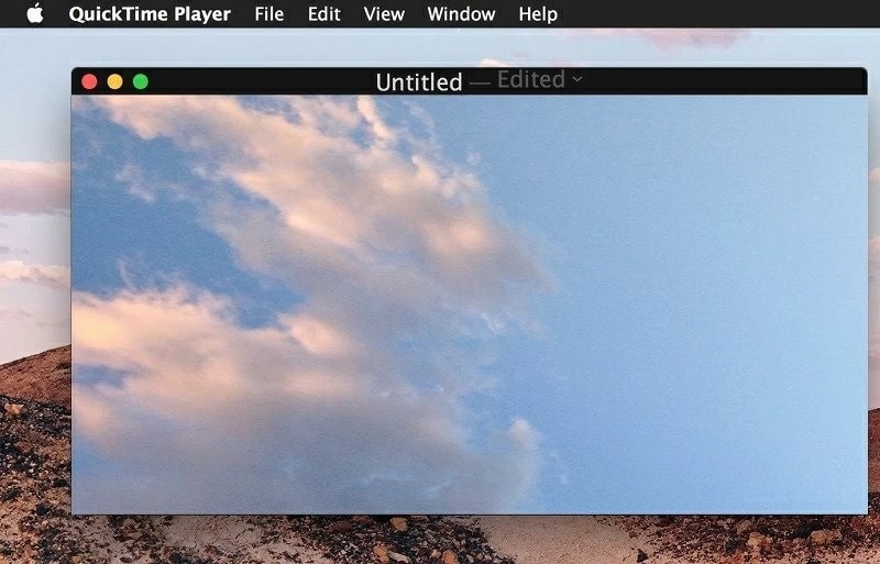 quicktime player main interface
