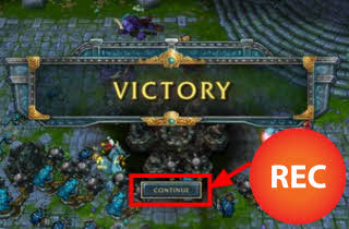 record lol games feature